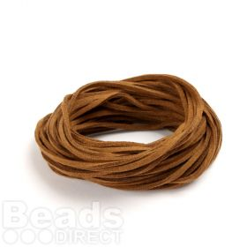 Suede Cord 2.5mm Brown 10m