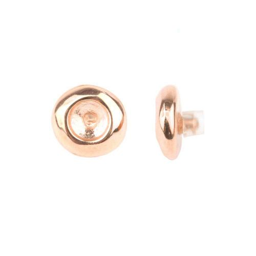 Rose Gold Plated SS39 Pin Charm for Bangle with Stopper 24mm Pk1