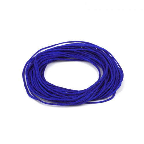Satin Cord 0.7mm Electric Blue 5m