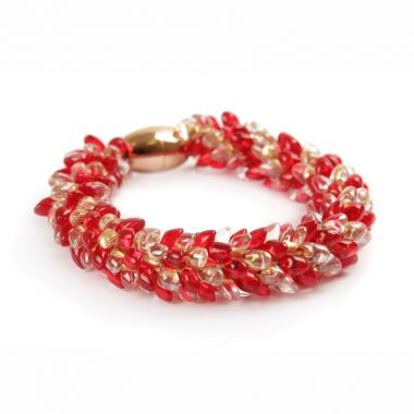 Tinsel Holly Bracelet