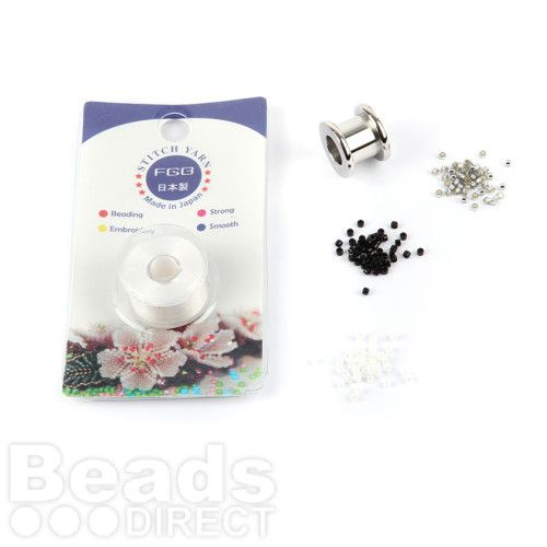 Beads Direct Hazy Daze Toho Aiko Beaded Charm Kit