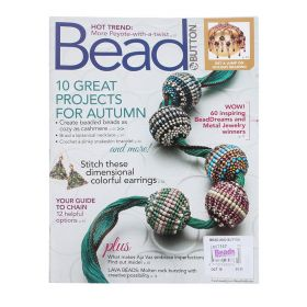 Bead and Button Magazine October 2018 Issue 147