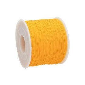 Macramé™ / Macramé cord / nylon / 0.6mm / dark yellow / 135m