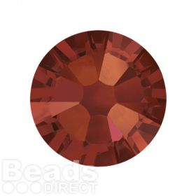 2088 Swarovski Crystal Flat Backs Non HF 7mm SS34 Crystal Red Magma F Pk144