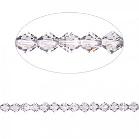 5328 Swarovski Crystal Bicones Xillion 3mm Smoky Mauve Pk24