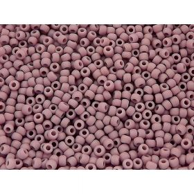 TOHO ™ / Round 11/0 / Opaque Frosted / Lavender / 10g / ~ 1100pcs