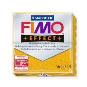 Staedtler Fimo Effect Polymer Clay Glitter Gold 56g (1.97oz)