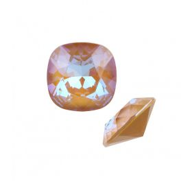 4470 Swarovski Crystal Square Fancy Stone 10mm Crystal Ochre DeLite Pk1