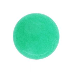 Agate / cabochon / round / 12x12x5mm / green / 1pcs