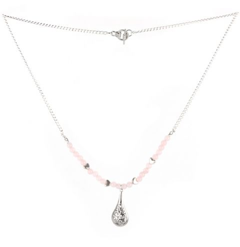 Rose Droplet Necklace