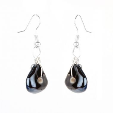 Mystic Cave Pebble Earrings