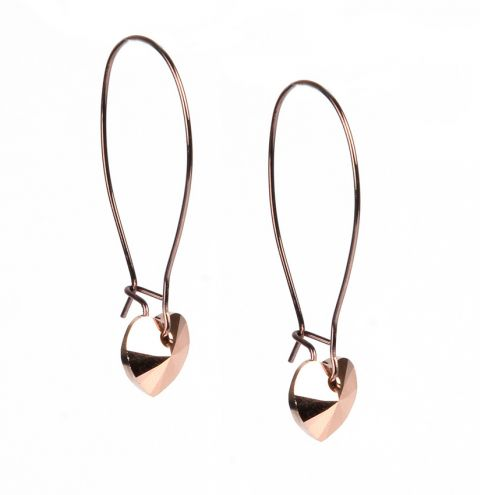 Chocolate Drop Earrings