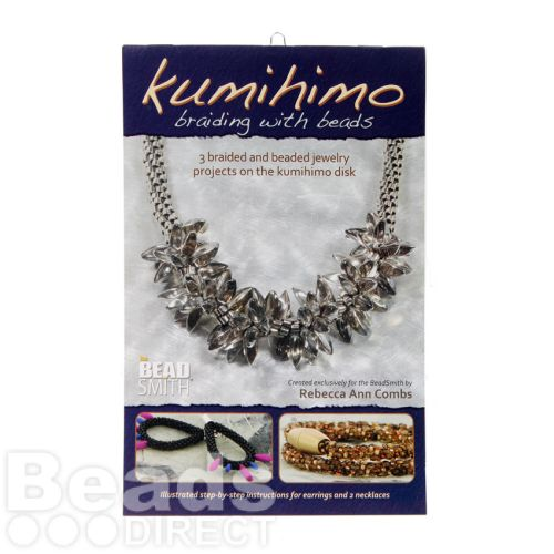 Kumihimo Braiding with Beads by Rebecca A. Coombs