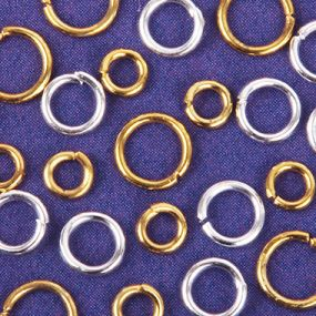Jump Rings, Split Rings & Soldered Rings