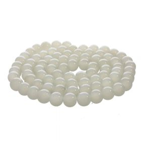 MIST ™ / round / 6mm / grey / 135pcs
