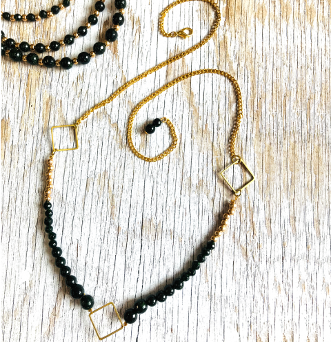 How to make a beaded Necklace - Jewellery Making Tutorial