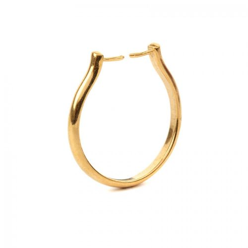 Gold Plated Interchangeable Ring 20mm Pack of 1