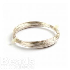 Silver Plated Copper Wire 0.4mm 20metre Coil Non Tarnish