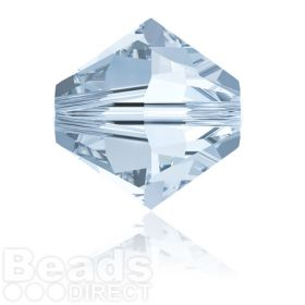 5328 Swarovski Crystal Bicones 8mm Crystal Blue Shade Pk288