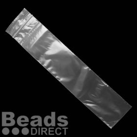 Clear Polythene Self Seal Bags 51x229mm Pk100