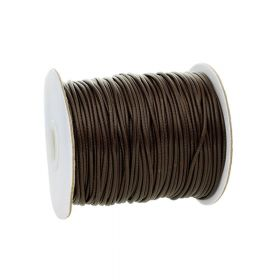 Coated twine / 2.0mm / 80m / dark brown