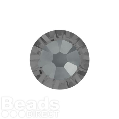 2088 Swarovski Crystal Flat Backs Non HF 4mm SS16 Crystal Silver Night F Pk1440
