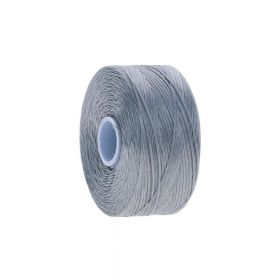 BEADSMITH ™ / thread S-LON D / nylon / Tex 45 / Fog / 70m