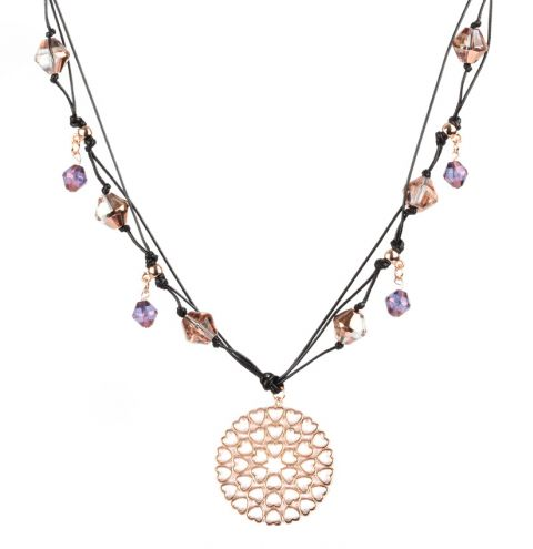 Rose Violet Necklace