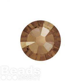 2088 Swarovski Crystal Flat Backs Non HF 4mm SS16 Crystal Bronze Shade F Pk1440