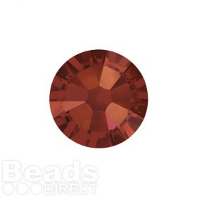 2088 Swarovski Crystal Flat Backs Non HF 4mm SS16 Crystal Red Magma F Pk1440
