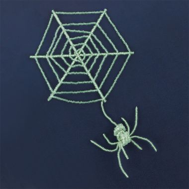 Glow in the Dark Spider Halloween Decoration