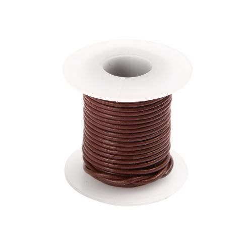 Mulberry Round Leather Cord 1mm 5 Metre Reel