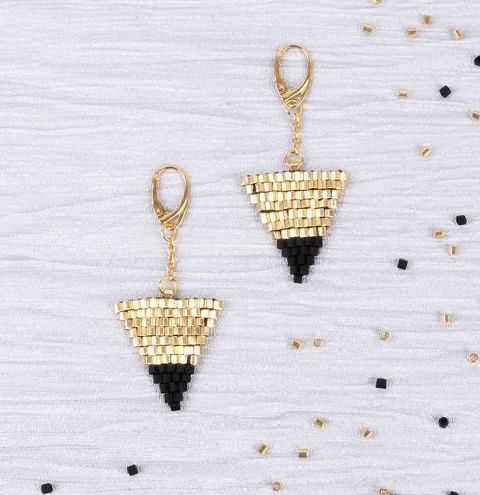 Golden Vogue Earrings