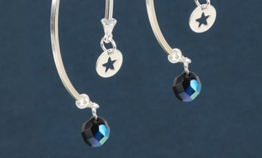 Night Sky Sparkle Earrings | Mini Make Monday