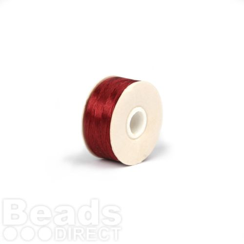 Nymo Beading Thread Size D 0.3mm Red 64yards