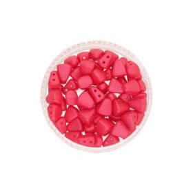 NIB-BIT™ / 6x5mm / Pearl Shine / Rose Red / 5g / ~27pcs