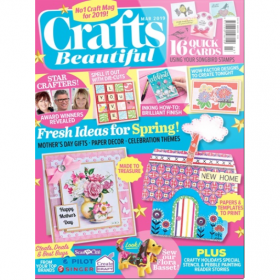 Crafts Beautiful Magazine March 2019 Issue 330
