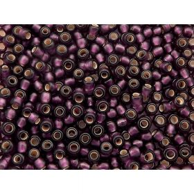 TOHO™ / Round 8/0 / Silver Lined Frosted / Amethyst / 10g / ~ 300 pcs