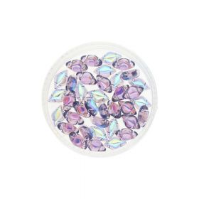 GEMDUO™ / 8X5mm / AB / Tanzanite / 5g / ~35pcs