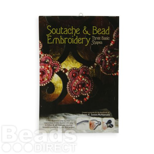 Beadsmith Soutache and Bead Embroidery Three Basic Shapes Book