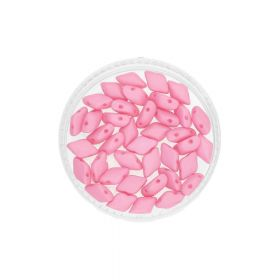 GEMDUO™ / 8x5mm / Saturated / Pink / 5g / ~35pcs