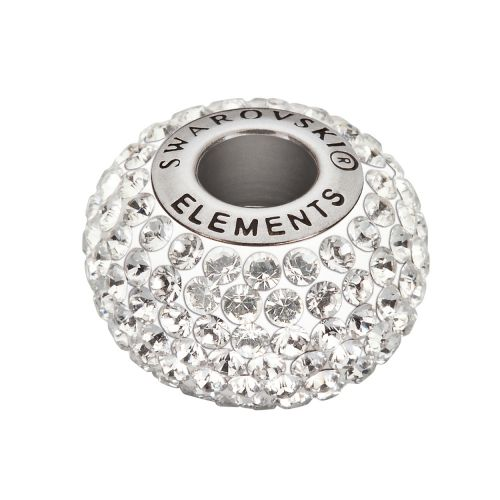 80101 Swarovski Xilion Crystal BeCharmed Pave Bead Crystal 14mm Pk1