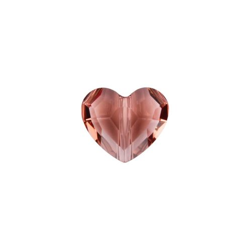 X- 5741 Swarovski Crystal Love Bead 8mm Blush Rose Pk6