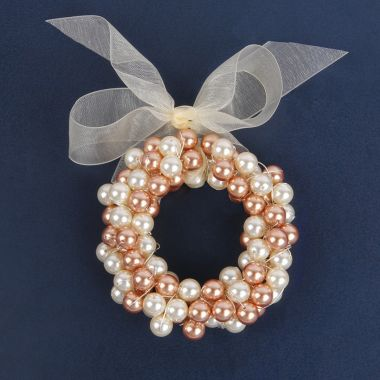 Christmas Pearl Wreath