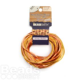 Rattail Honey Butter 2mm 4 Colours 4x3yds