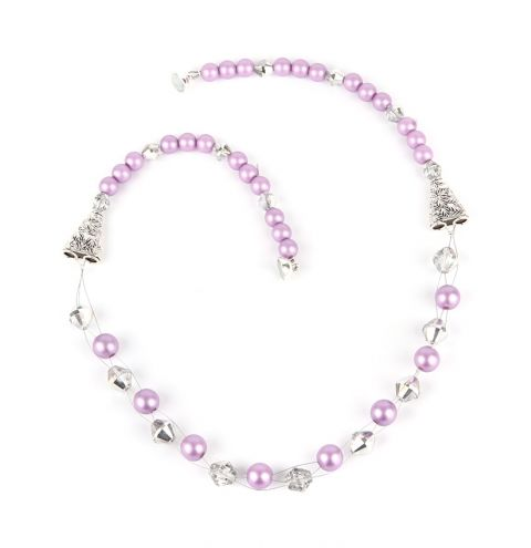 Frosted Purple Necklace
