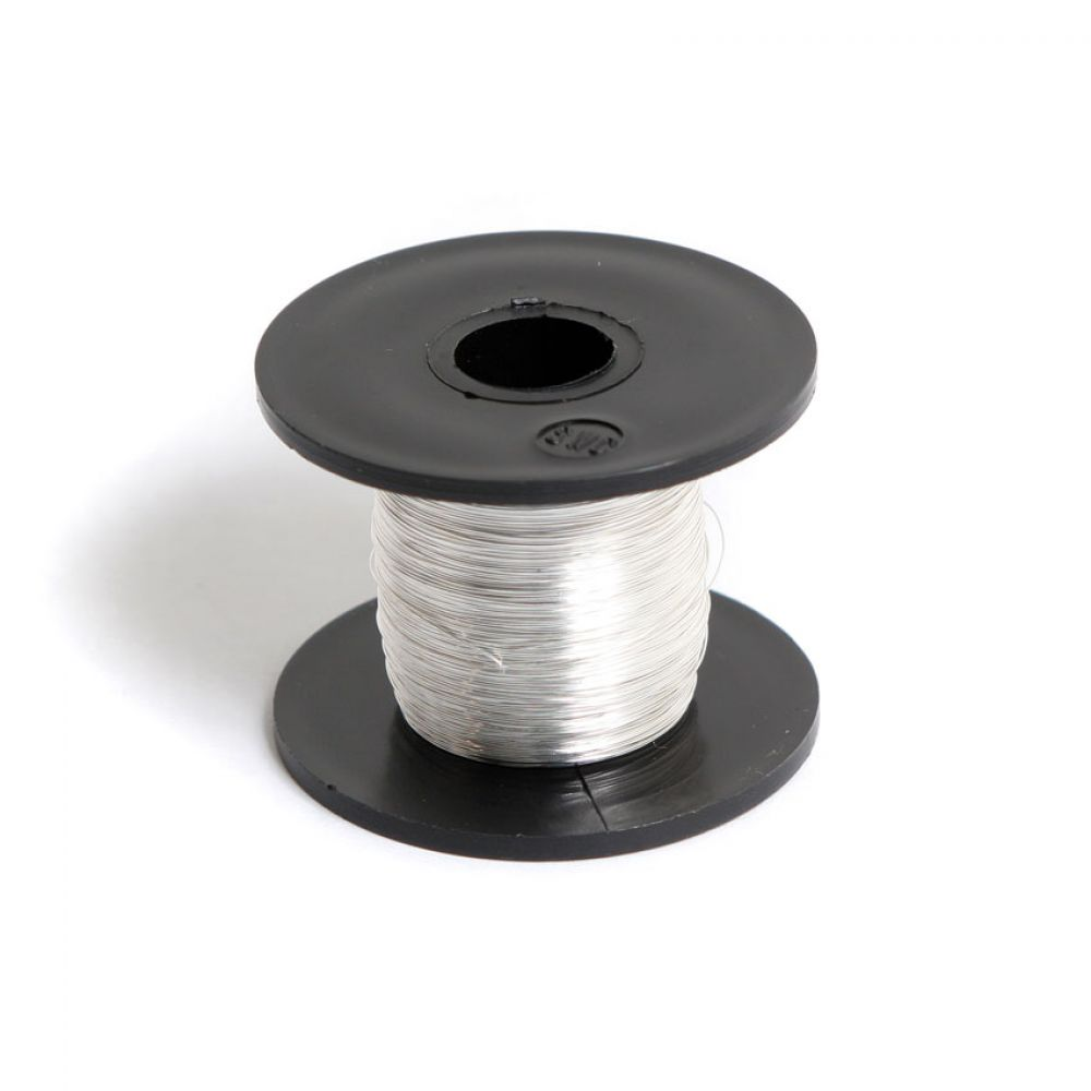 Silver Plated Copper Wire 0.2mm 50g/175metre Reel | Beads Direct