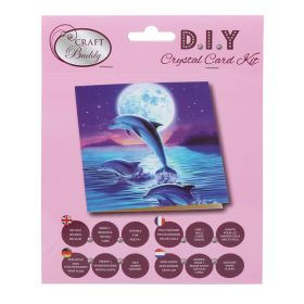 Beads Direct 'Dolphin Pod' Crystal Card Kit