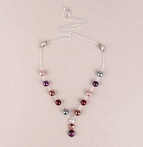 Mulberry Crush Necklace