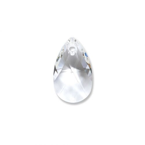 6106 Swarovski Drop Pendant 16mm Crystal Clear Pk1